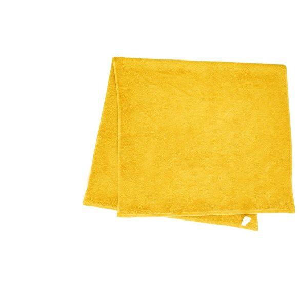 Színes törölköző 100x140 cm citromsárga
