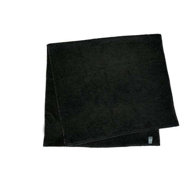 Színes törölköző 100x140 cm fekete