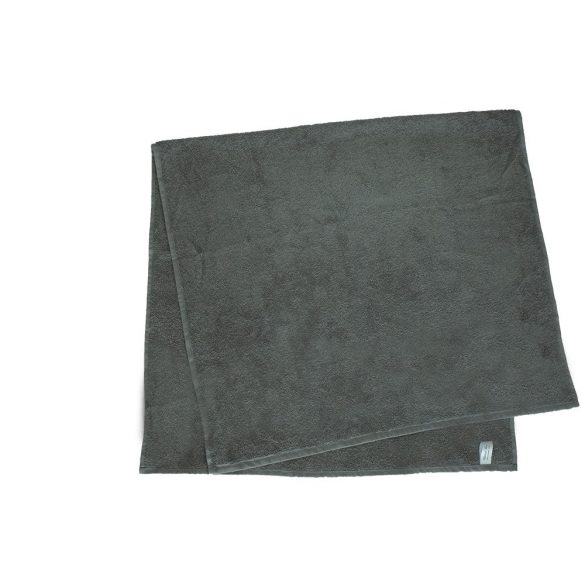 Színes törölköző 100x140 cm középszürke