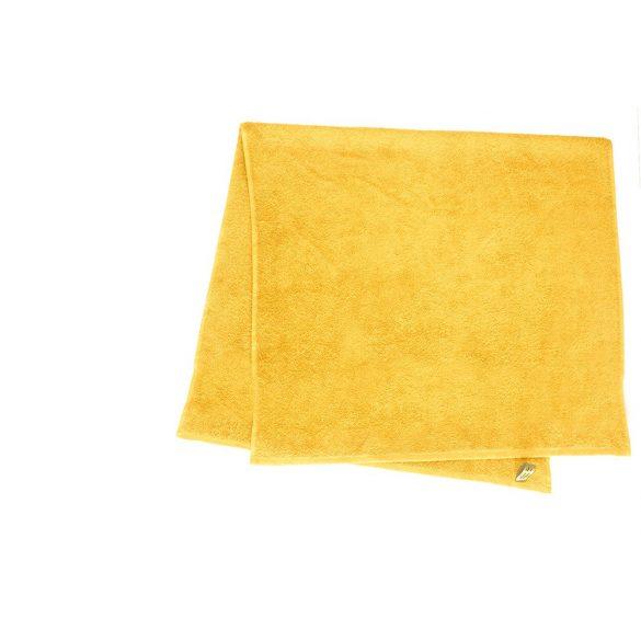 Színes törölköző 100x140 cm napsárga