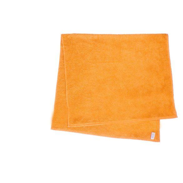 Színes törölköző 100x140 cm narancssárga