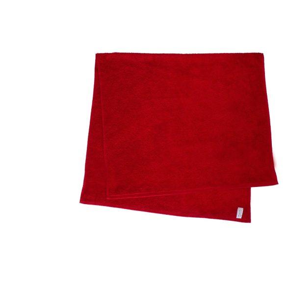Színes törölköző 100x140 cm piros