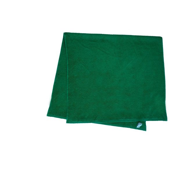 Színes törölköző 100x140 cm sötétzöld
