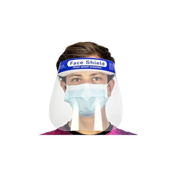 Plexi arcvédő - a szemek védelmére