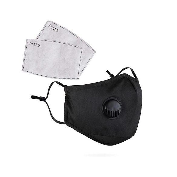 Textil maszk szűrővel
