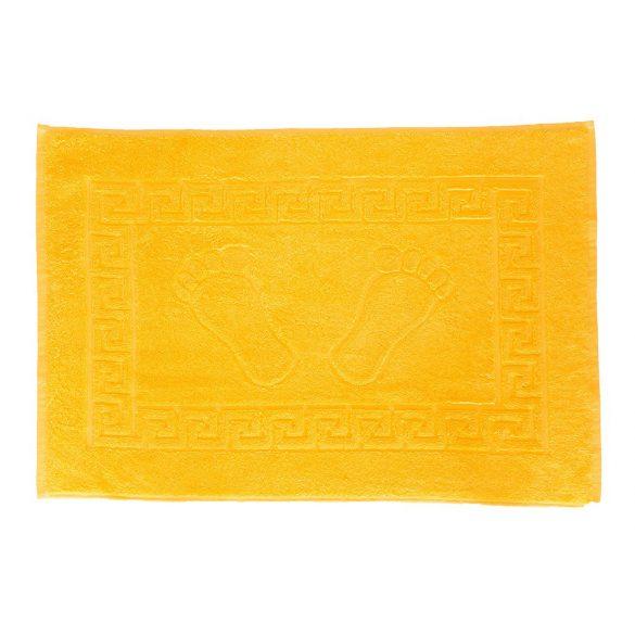 Frottír Kádkilépő, Tappancsos napsárga, 50 x 70 cm