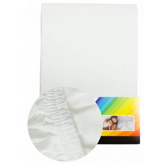 Fehér Gumis Lepedő 140-160 cm x 200 cm