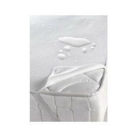 Pamut frottír vízhatlan sarokgumis (szállodai és egészségügyi)