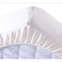 Pamut frottír vízhatlan körgumis matracvédő, 160 x 200 cm, (szállodai és egészségügyi minőség)