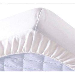 Pamut frottír vízhatlan körgumis matracvédő, 180 x 200 cm, (szállodai és egészségügyi minőség)