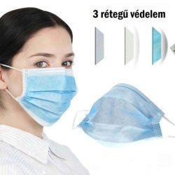 Orvosi maszk - gumis 50 DB / DOBOZ