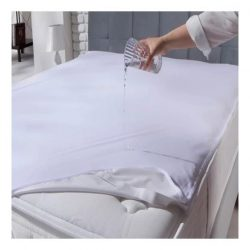 Frottír vízhatlan matracvedő, 100 x 200 cm